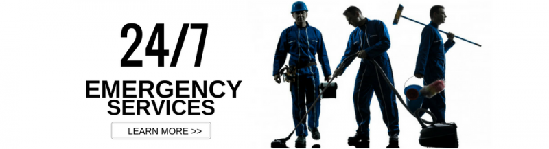 24/7 emergency restoration services